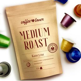 Капсулы coffeelover «ESPRESSO MEDIUM ROAST»
